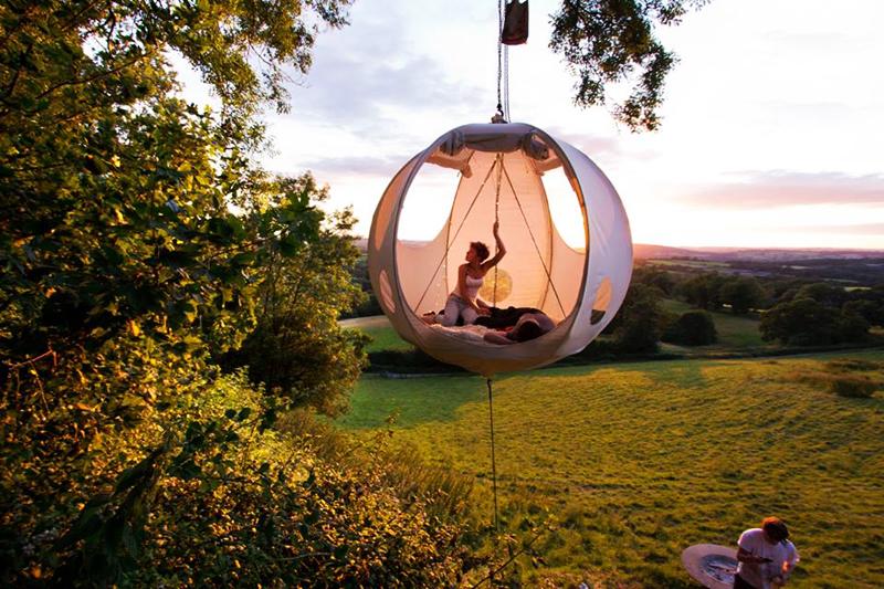 Tente suspendue Roomoon