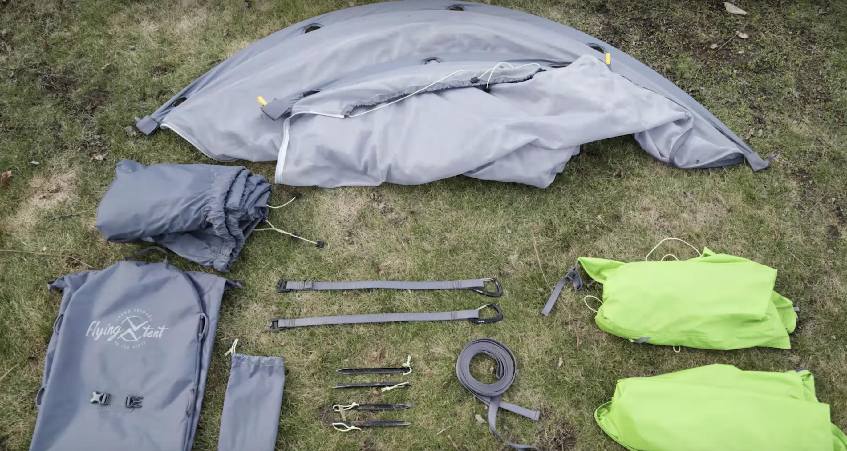 Flying Tent : toiles et accessoires